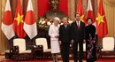 Chủ tịch Nước đón chính thức và hội kiến với Nhà vua Nhật Bản