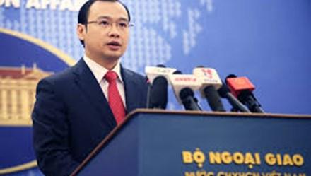 Việt Nam xác minh thông tin Trung Quốc sắp hoàn tất chuỗi căn cứ ở Trường Sa
