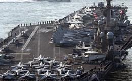 Triều Tiên dọa xóa sổ tàu sân bay Mỹ Carl Vinson