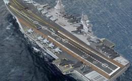 Nga muốn đóng tàu sân bay lớn nhất thế giới đọ với Mỹ