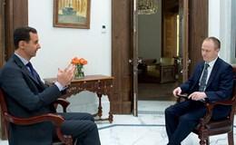 Ông Assad không loại trừ sẽ cần Nga giúp trên bộ
