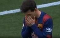 """Khoảnh khắc """"chân gỗ"""" khó tin của siêu sao Messi"""