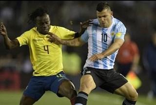 Sốc: Argentina thủng lưới 2 bàn trong 2 phút trước Ecuador