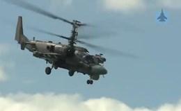 Dàn vũ khí rầm rập thể hiện sức mạnh tại cuộc thi quân đội quốc tế
