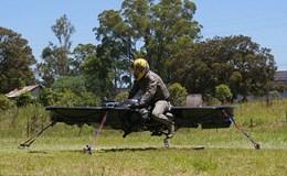 Lính Mỹ sắp đi xe bay như trong phim viễn tưởng
