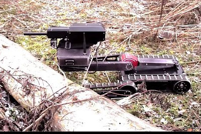 Robot bắn tỉa Minirex - vũ khí lợi hại chống khủng bố