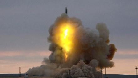 Nga phóng tên lửa liên lục địa đến mục tiêu cách xa hàng ngàn km