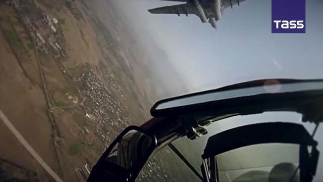 Dàn máy bay, tên lửa 7 nước Liên Xô cũ tập trận phô diễn sức mạnh