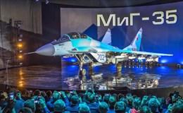 Chiến đấu cơ MiG-35 chính thức ra mắt hoành tráng