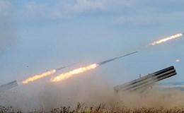 Hệ thống phóng loạt Tornado-S trang bị tên lửa chính xác cao định vị vệ tinh