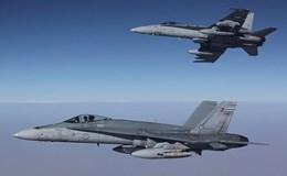Chiến đấu cơ F/A-18 ném bom tan tành cơ sở chế tạo bom của IS