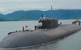 Tàu ngầm hạt nhân Antey sẽ được trang bị tên lửa Kalibr