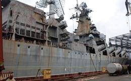 """Ukraine bán """"đồng nát"""" tàu tuần dương tên lửa từ thời Liên Xô"""