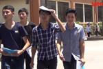 Video: Thày giáo và thí sinh nói gì về đề thi Địa lý và Hóa học?