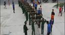 Video: Quảng Trị dâng cúng đòn bánh tét khủng dài 21m nặng gần 1 tấn