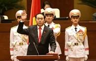 Video Chủ tịch nước Trần Đại Quang tuyên thệ nhậm chức