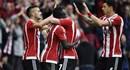 Man City nhận thất bại thảm hại 2-4 trước Southampton