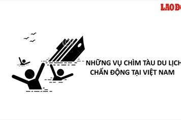 Infographic: Những vụ chìm tàu du lịch chấn động tại Việt Nam