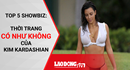 """Top 5 showbiz: Thời trang """"có như không"""" của Kim Kardashian"""