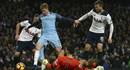 Video: Man City dẫn 2 bàn nhưng không thể có được 3 điểm trước Tottenham