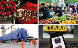 Kinh tế 24h: Gắn phù hiệu, quản lý Uber, Grab như taxi?; Chấn chỉnh việc cấp phép bán lẻ cho doanh nghiệp FDI