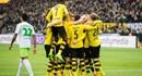 Dortmund thắng tưng bừng Wolfsburg 3 - 0 trên sân nhà