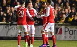 "Arsenal thắng dễ ""tí hon"" Sutton United 2 - 0"