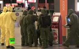 Video cảnh sát Malaysia kiểm tra tìm chất độc toàn sân bay Kuala Lumpur sau vụ ám sát