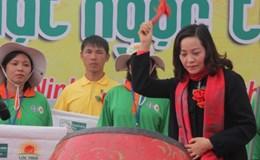 Ninh Bình: Lễ hội xuống đồng áp dụng khoa học kỹ thuật cao