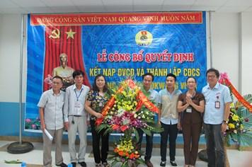 Công đoàn các KCN tỉnh Thái Nguyên: Kết nạp 450 CNLĐ vào tổ chức Công đoàn