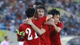 ĐT Việt Nam thắng dễ Syria trên sân nhà