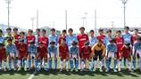 """Đội tuyển U.13 học đường """"học một sàng khôn"""" trên đất Nhật"""