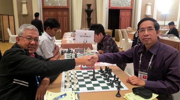 Giải Vô địch Cờ Vua U.50, U.65 Châu Á: Kỳ thủ Lưu Đức Hải đại diện cho Việt Nam tranh tài