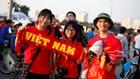 Chùm ảnh: Khán giả tưng bừng tiếp sức cho ĐT Việt Nam