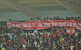 """CĐV Hải Phòng bị """"cấm cửa"""" ở vòng 8 V.League"""
