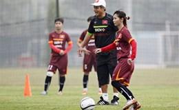 Đội tuyển nữ Việt Nam tập trung 26 cầu thủ cho vòng loại Châu Á 2018