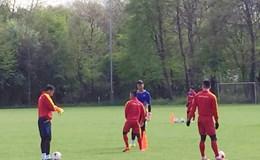 U20 Việt Nam tập buổi đầu tại Đức