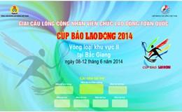 Marquette banner, backdrop cho vòng Bảng tại Bắc Giang