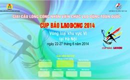Marquette banner, backdrop cho vòng Bảng tại Hà Nội