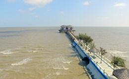 Cần Giờ, huyện biển TP.HCM nhìn từ trên cao