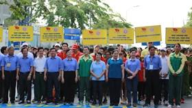 Hàng ngàn người tham gia Ngày chạy Olympic vì sức khỏe toàn dân 2017