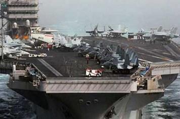 """""""Soi"""" cấu hình hàng không mẫu hạm """"kỵ sỹ trên biển cả"""" của Mỹ"""