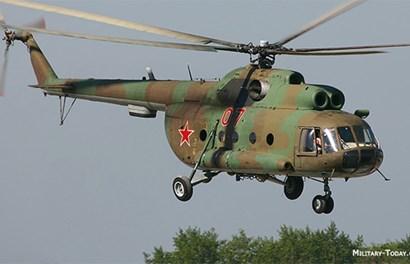 Cận cảnh máy bay trực thăng Mi-8 vừa bị rơi ở Bình Thuận