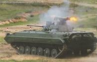 """Sức mạnh xe thiết giáp """"hỏa lực mạnh"""" BMP-2 bản nâng cấp"""