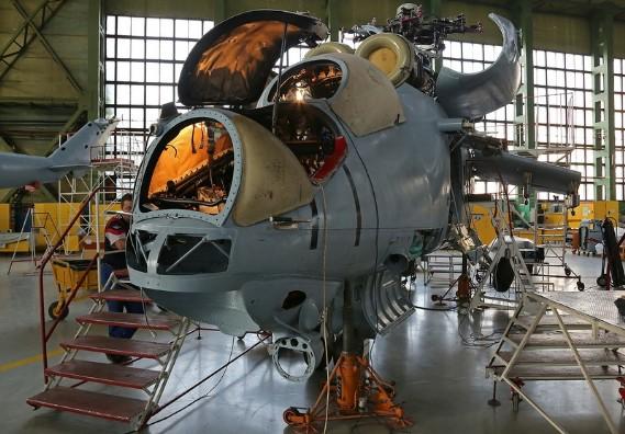 Bên trong nhà máy chế tạo dòng trực thăng Mil Mi nổi tiếng..
