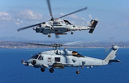 """Uy lực đáng sợ trực thăng chống ngầm """"khủng"""" của Mỹ"""