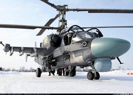 """Sức hút trực thăng """"khắc tinh của chiến hạm"""" Ka-52K tại MAKS 2015"""