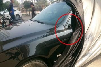 Nạn trộm cắp gương, logo ô tô: Thêm nạn nhân, chưa tìm ra thủ phạm