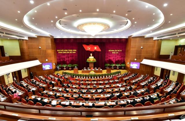 Khai mạc Hội nghị lần thứ Tư, Ban Chấp hành T.Ư Đảng Khóa XII