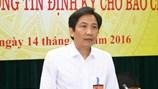 Thứ trưởng Bộ Nội vụ trả lời báo chí về vụ bổ nhiệm Trịnh Xuân Thanh
